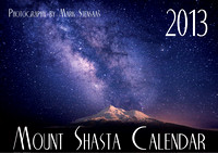 2013 Mount Shasta Calendar, Order today on Amazon